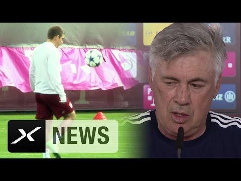 Carlo Ancelotti über Philipp Lahm, Xabi Alonso und Urlaubspläne | FC Bayern München - SC Freiburg