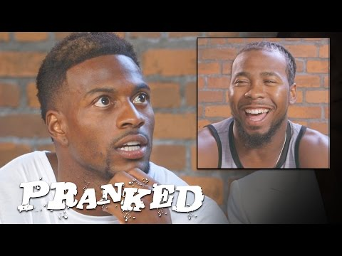 Josh Norman Freaks Out at Fans, ft. Emmanuel Sanders | Pranked!
