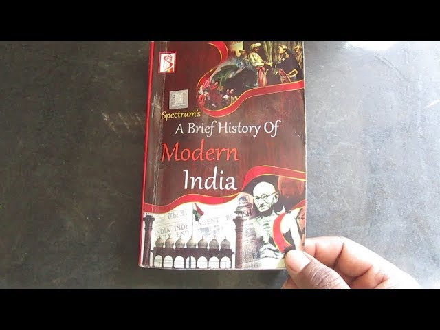 Modern India by Rajiv Ahir, Spectrum book review- useful for upsc,ssc etc