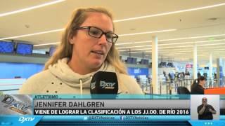 JENNIFER DAHLGREN EN DXTV NOTICIAS