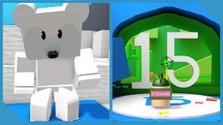 New Polar Bear Area + Legendary Bees - Roblox Bee Swarm Simulator