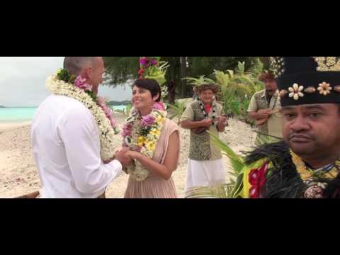 Rachel & Michael - Civil legal & Tahitian wedding ceremony Bora Bora