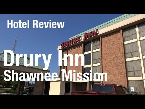 Hotel Review Drury Inn Kansas City Shawnee Mission