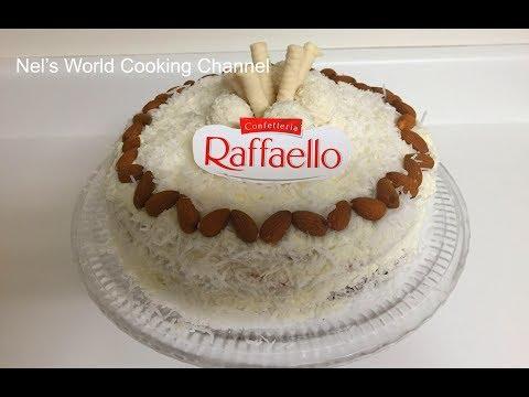 Almond Coconut Cake (Raffaello cake) - Տորթ Ռաֆֆաելլո - Торт Рафаэлло