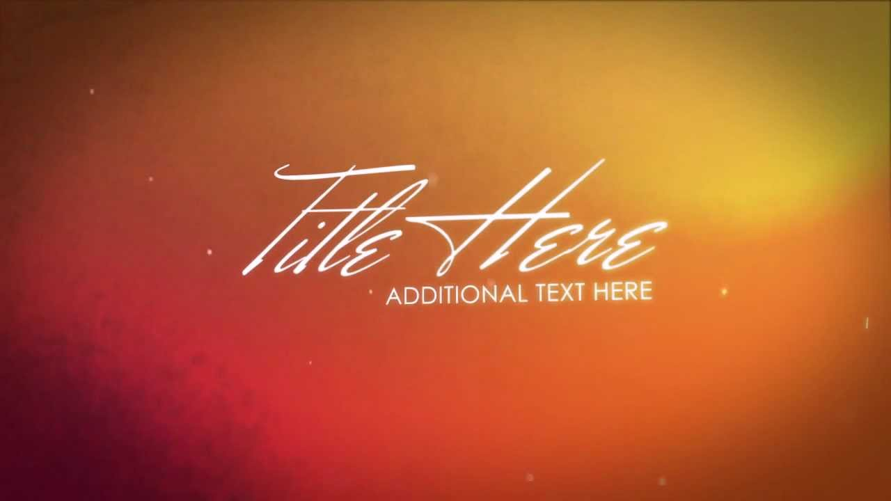 free after effects template basic text transitions youtube