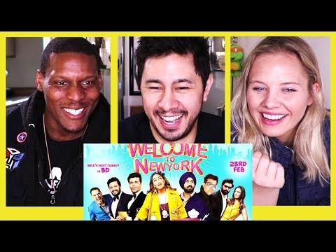 WELCOME TO NEW YORK | Sonakshi Sinha | Diljit Dosanjh | Trailer Reaction!