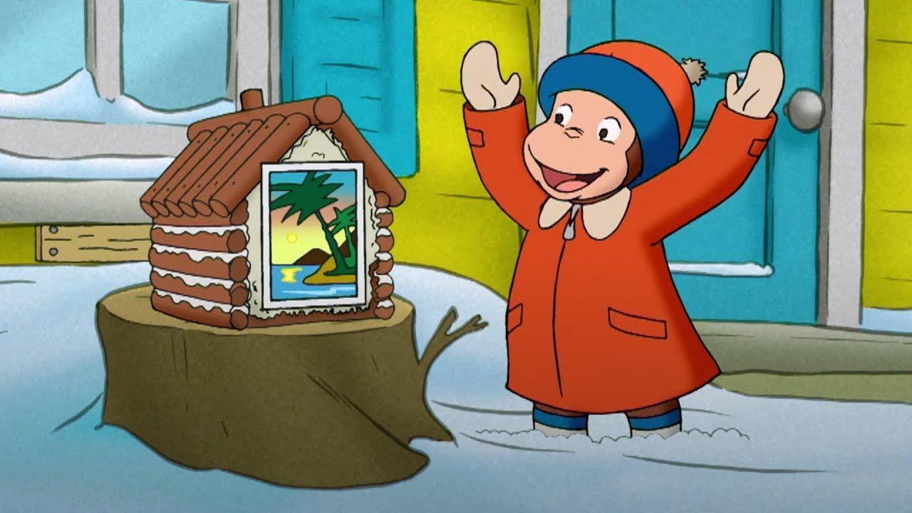 Jorge hace una casa de ardillas | Jorge El Curioso En Español