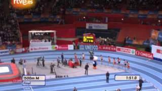 Europeo de atletismo: La carrera de 1500, oro para Olmedo