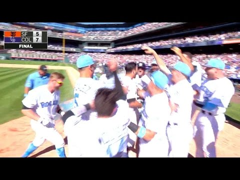 Arenado clubs walk-off homer for the cycle