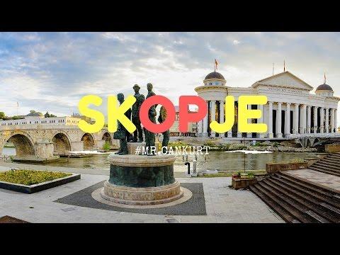 Short Skopje City Tour 2016 #mr.cankurt