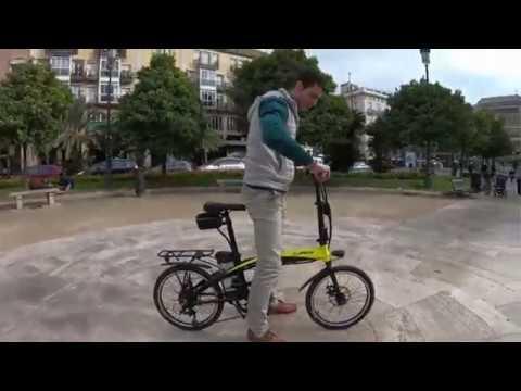 🔥 Bicicleta Eléctrica Plegable Helliot Bikes ByHelliot01