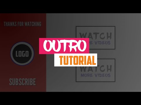 How To Make Outro For Youtube In Kinemaster   End Screen Animation