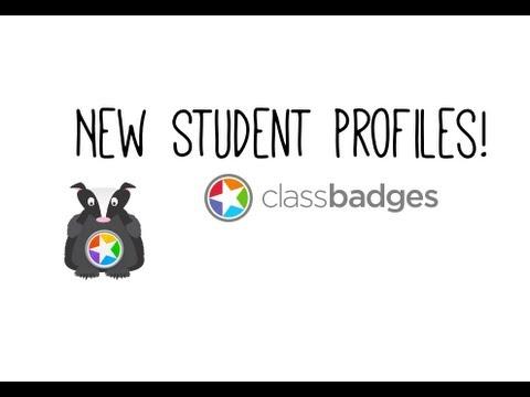 ClassBadges Student Profile View