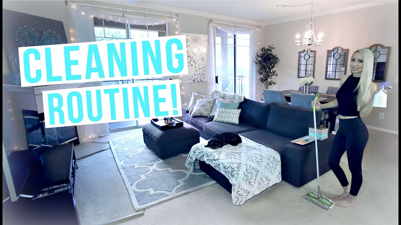 My Cleaning Routine! Cleaning Tips & Motivation - YouTube