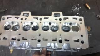 видео Доработка ГБЦ на ВАЗ 2109 (8 клапанов)