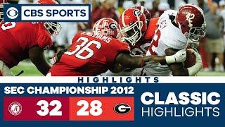 SEC Championship 2012: Alabama vs Georgia   SEC Classic Highlights   CBS Sports HQ