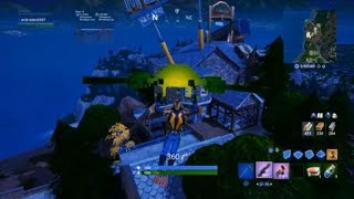 FORTNITE Season10; Tap Giant Shiny Cube, Enter Rift On Boot Raft and Search Capsula