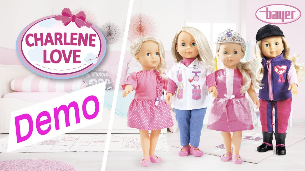 Charlene Love - Doll - Puppe - Demo - Bayer Design - YouTube