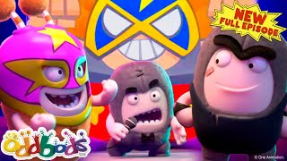 Oddbods Helps Slick To Be A Pro Wrestling Champion!   NEW Full Episode