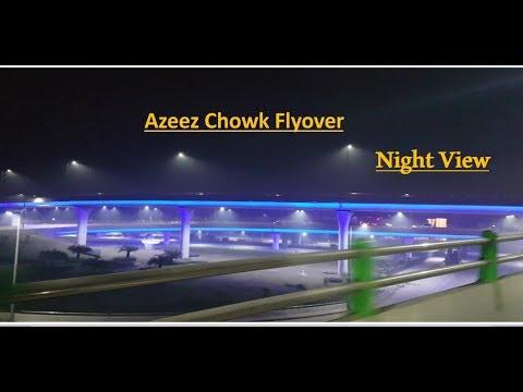 Azeez Chowk Flyover Gujranwala    aziz cross flyover    Pindi bypass Flyover gujranwala