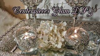 DIY Chic Dollar Tree Centerpieces| DIY Glam Decor| DIY Elegant Centerpieces