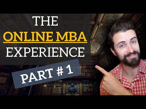 Why Get An MBA Online? Here's How I Decided... | My Online MBA Experience [ PART #1 ]