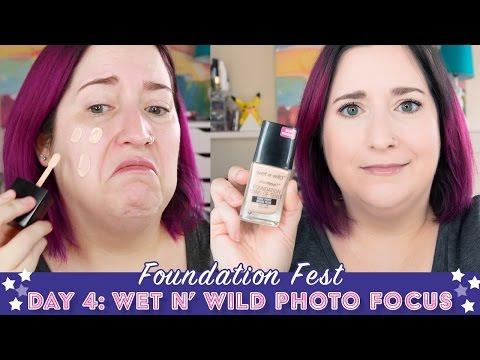 FOUNDATION FEST | Wet n Wild Photo Focus | Pale, Dry Skin