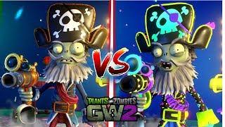 Capitán Mortacho vs Capitán Legendario (Fiestero) | PvZ GW2