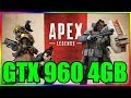 Apex Legends | High & Low Settings | GTX 960 4GB | i5 3350P | 8GB RAM