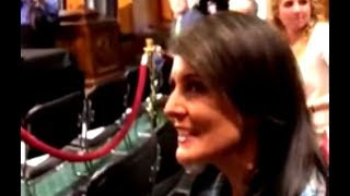 Nikki Haley Gets Uncomfortable When Asked About Blocking Investigation Of Israel