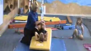chloe s first day at gymnastics