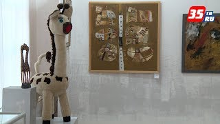 «Я зверьё люблю»: выставка рукотворных животных открылась в Череповце