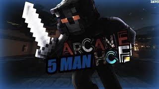 [Arcane] 5 Man HCF - kid cheats in 1v1 and 80+ kills / capping koth + mile long 1.7