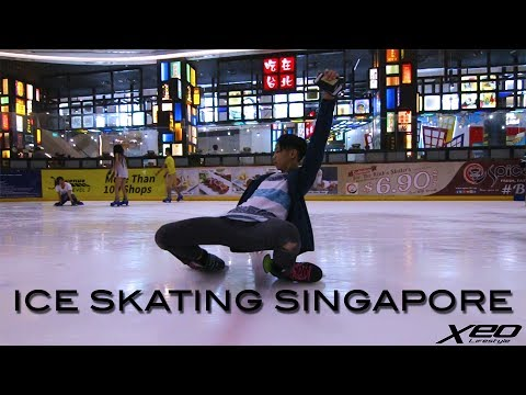 Ice skating in Singapore - Freestyle Ice Skating Trip