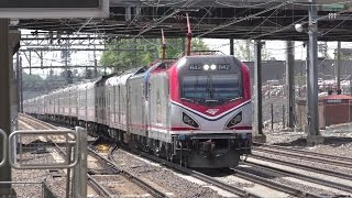 Amtrak HD 60fps: Final Ringling Bros. and Barnum & Bailey Circus Train @ Newark Airport (5/10/17)