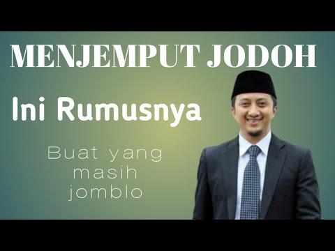 Ustadz Yusuf Mansur, Rumus Menjemput Jodoh Dalam 40 Hari, Buat Yang Masih Jomblo.