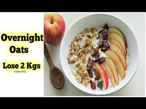 Overnight Oats  – Lose 2 kgs In 1 Week – Apple Pie Overnight Oats