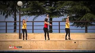 Танцевальная аэробика  Латина  Урок 3
