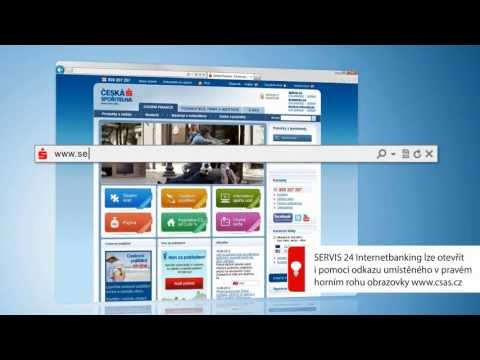 První Přihlášení Do SERVIS 24 Internetbanking