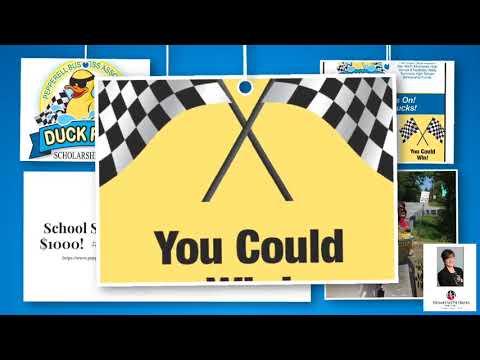 14th annual PBA High School Scholarship Fund!  Enter to win $1000!  #duckrace #winwin #greatevent