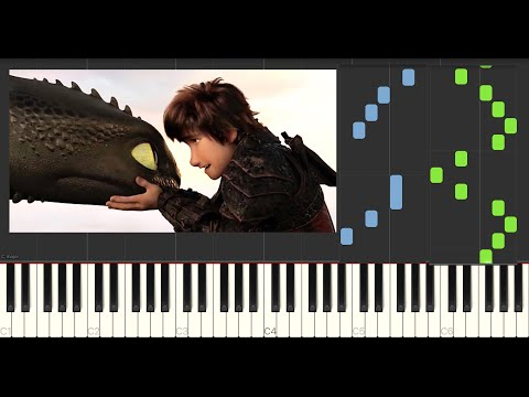 As Long As He's Safe (How To Train Your Dragon 3) - Piano