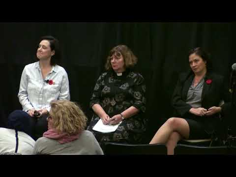 Us & Them panel discussion on homelessness in Edmonton