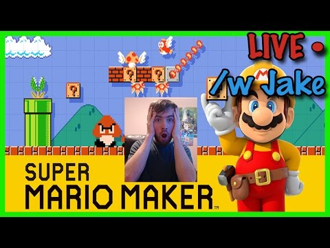Super Mario Maker Onesie Party & New Years Countdown! (VOD 12-31-15)
