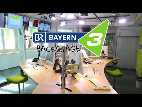 Hinter den Kulissen vom Radiosender Bayern 3 [HD Reportage]
