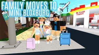 Family MOVES To MINI BLOXBURG| Roblox Bloxburg