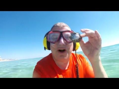Aquachigger and Chill Bill go underwater treasure hunting on Destin Beach and redefine treasure.