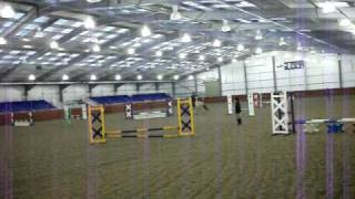 First jumping class at SNEC - 55cm 24th march 2010