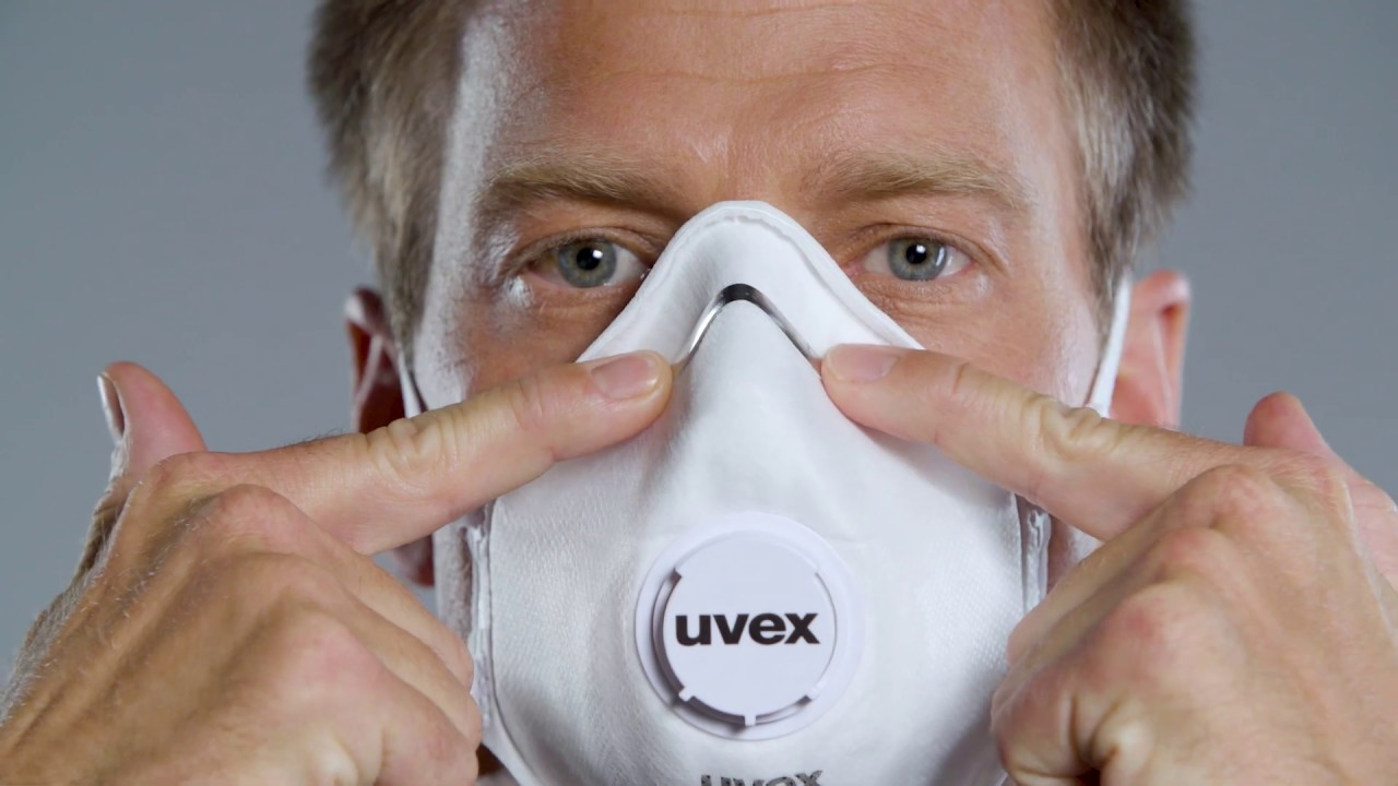 Uvex 2210 To Wear How Ffp2 - A Dust english Mask