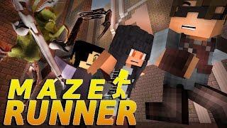 """Minecraft MAZE RUNNER! - """"SURVIVE THE NIGHT!"""" #5 (Minecraft Roleplay)"""