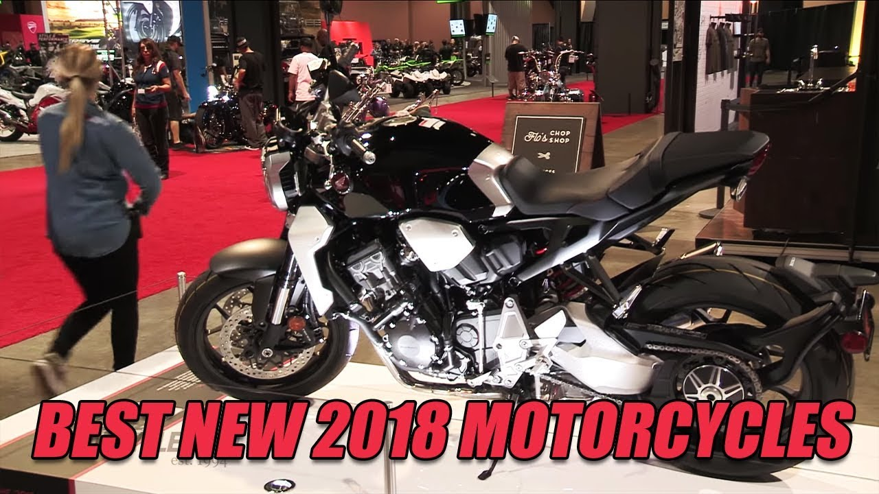 Looking Ahead: Best New 2018 Motorcycles - Dauer: 22 Minuten